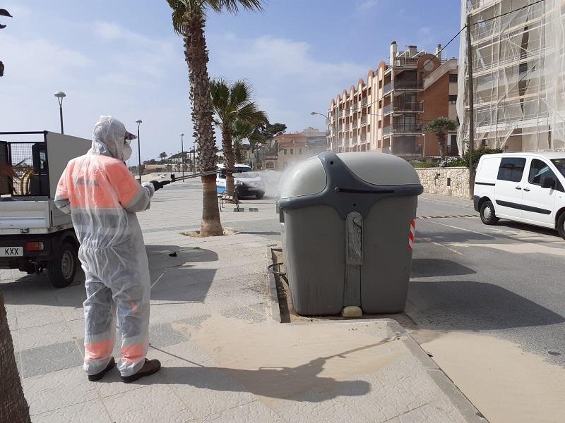 Torredembarra incrementa el nivell de reciclatge de residus durant el confinament