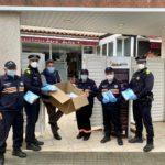 Les residències de Roda reben 2.600 mascaretes