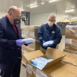 El Govern lliura a Tarragona 245 mil màscares per a repartir en transport