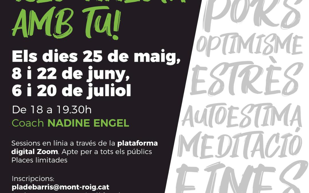 El Pla de Barris de Mont-roig afronta la crisi amb tallers online