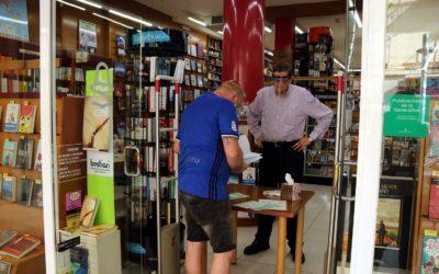 Les llibreries tarragonines afronten amb incertesa l'obertura en la fase 1