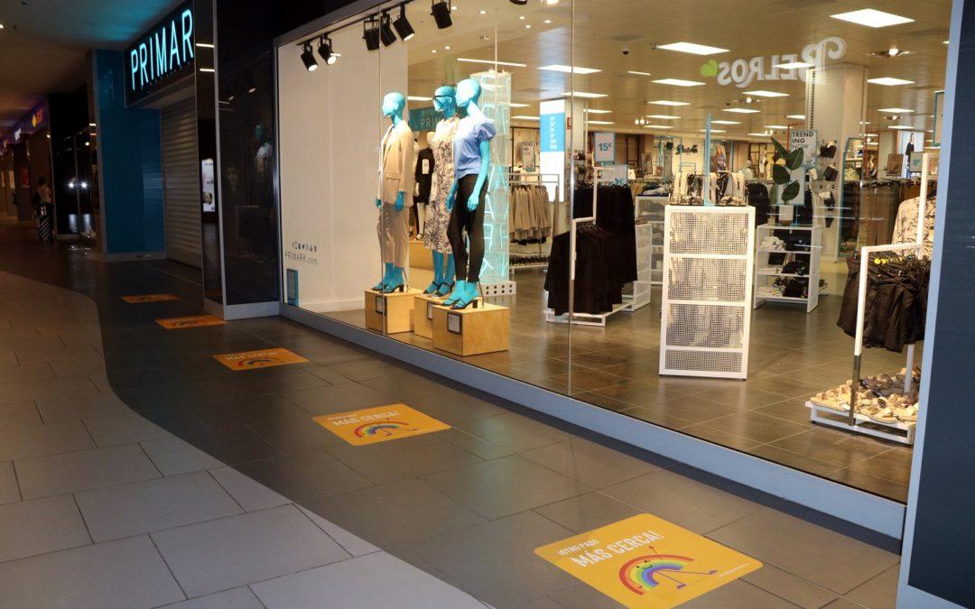Els centres comercials tarragonins, a punt per obrir amb aforament limitat