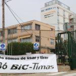 Els treballadors de Bic Graphic en contra de l'ERTO proposat per la direcció