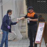 L'Ajuntament repartirà les mascaretes a les estacions de Renfe i d'autobusos