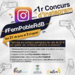 La regidoria de Comerç organitza el primer concurs d'Instagram #FemPobleRdB