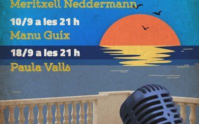 El cicle musical Voramar 2020 del Teatret del Serrallo