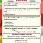 De l'1 al 10 de juliol, preinscripcions a l'Escola Municipal d'Adults Mar de Lletres