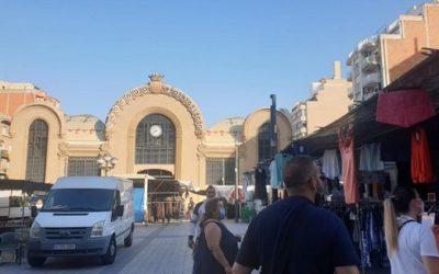 El 68% dels marxants tornen a obrir les paradetes a la plaça Corsini