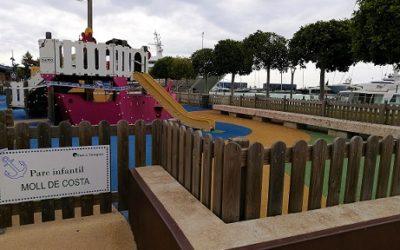 El Port reobre les zones de joc a l'aire lliure en condicions de seguretat