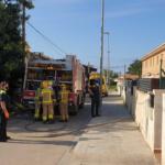 La Policia Local de Torredembarra descobreix una plantació de marihuana dins d'un habitatge incendiat