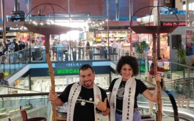 Ivan Luna i Andrea Hidalgo, Rei Carnestoltes i Concubina del Carnaval 2021