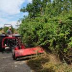 Comencen els treballs de conservació i neteja dels camins rurals de Constantí