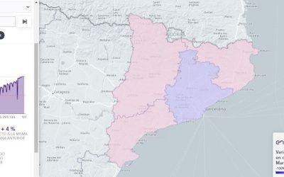 Tarragona torna als nivells de mobilitat similars als d'abans de la crisi sanitària