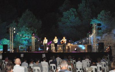 La cultura es reivindica amb l'èxit del primer concert del Festival Roca Foradada