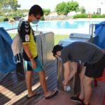 Les piscines municipals dels pobles reobren al 'ralentí'
