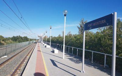 L'estació de tren de Port Aventura canvia de nom i des d'ara s'anomena Salou-Port Aventura