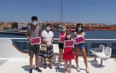 El Port lliura els premis al jovent guanyador del Concurs Literari de Sant Jordi Virtual