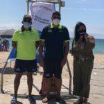 La platja de Creixell activa el servei de salvament i socorrisme
