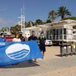 Cambrils hissa la Bandera Blava a les platges de Vilafortuny, Cavet, Regueral i La Llosa