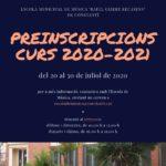 S'obre el termini de preinscripció a l'Escola Municipal de Música de Constantí per al curs 2020-2021