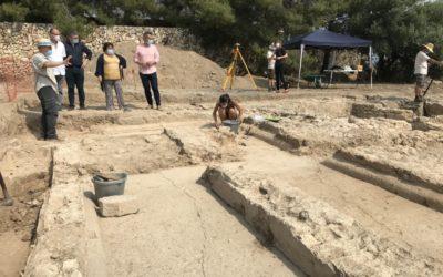 Troballa arqueològica: Mas dels Frares de Constantí era una gran vil.la romana