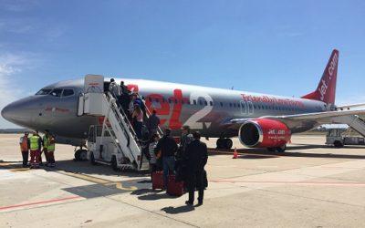 Jet2.com descarta volar a Girona i Reus aquest estiu i reprendrà les operacions a Barcelona a finals d'agost