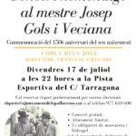 Els Pallaresos homenatja el compositor Josep Gols amb un concert en el 150è aniversari del seu naixement