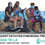 #posatela, una campanya de l'Ajuntament d'Altafulla per promoure l'ús de la mascareta entre la població
