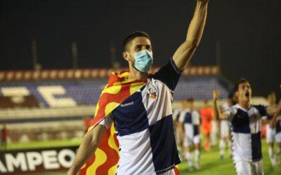 La bandera de Tarragona oneja en l'ascens del Sabadell a Segona A