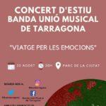 La Banda Unió Musical de Tarragona torna als escenaris amb un 'viatge per les emocions'