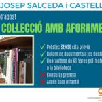 Ja es pot accedir a la col·lecció de la Biblioteca Josep Salceda i Castells de Cambrils
