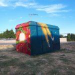 Endesa cedeix tres centres de transformació a l'Ajuntament dels Pallaresos per decorar i afavorir l'art urbà