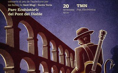 La Música del Diable arriba a l'aqüeducte de lesFerreres per Sant Magí i Santa Tecla