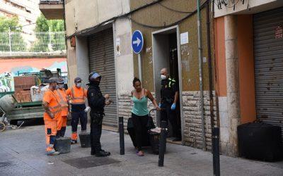 El Ministeri de l'Interior demana a la policia el «desallotjament immediat» davant les okupacions «flagrants»