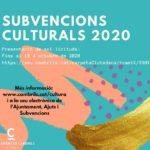 Cambrils obre la convocatòria de subvencions per activitats culturals i festives