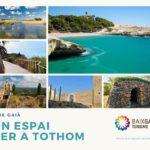 El Baix Gaià promociona el nou web turístic i estrena un plànol de rutes