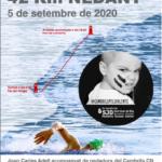 Un nedador del Cambrils Club Natació farà una travessia solidària de 42 km contra el càncer infantil