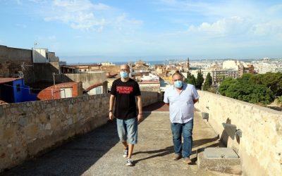 Tarragona vol desencallar l'obertura del pas de ronda de la muralla