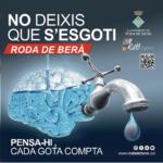 Roda de Berà pren noves mesures urgents per assegurar el subministrament d'aigua potable