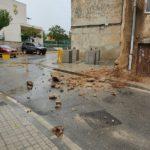 Ensurt per un despreniment a la Pobla de Montornès sense danys personals