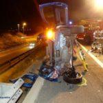 Detinguts dos conductors a la Canonja i la Selva per circular sota els efectes de l'alcohol i provocar dos accidents