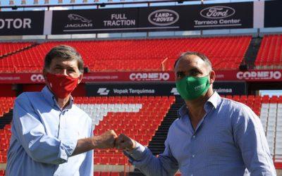 El Nàstic i l'empresa Gregorio Cornejo renoven el seu acord per tres temporades