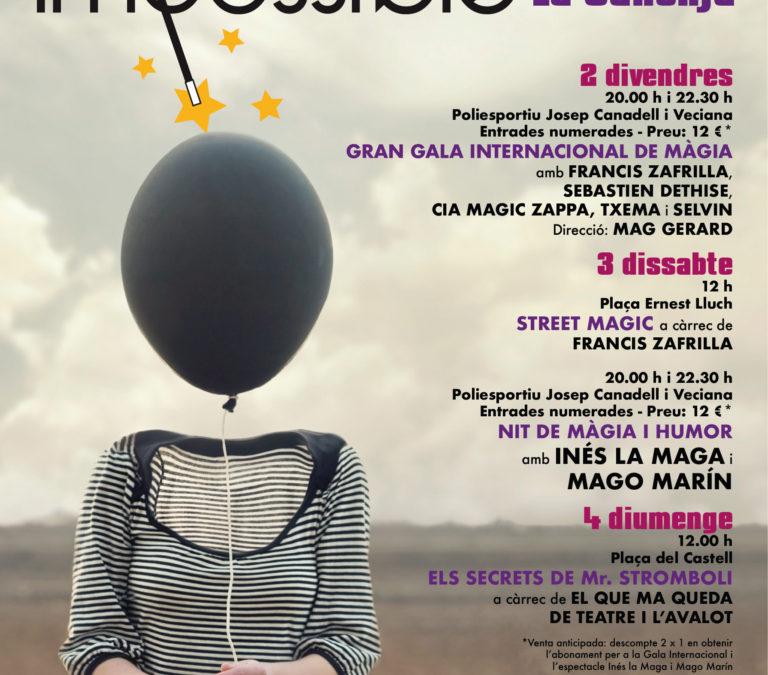 Tarragona21 sorteja cinc entrades dobles per a les jornades de màgia Impossible