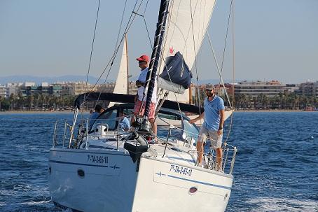 Les embarcacions Rossina di Mare i Mestral Fast guanyen la Regata Rei en Jaume de Salou