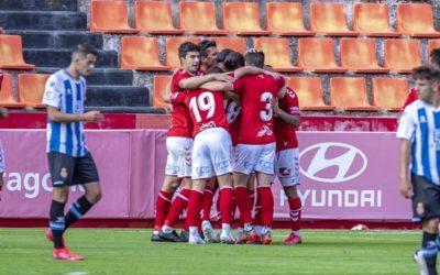 El Nàstic empata amistosament amb l'Espanyol B (2-2)