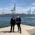 El conseller Ramon Tremosa visita el Port clicant l'ull al desenvolupament de la ZAL