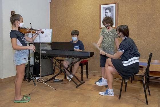 S'inicia el curs a l'Escola Municipal de Música de Constantí