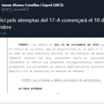 El judici dels atemptats de Barcelona i Cambrils s'iniciarà el 10 de novembre