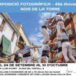 Els Nois de la Torre presenten una exposició fotogràfica retrospectiva dels 45 anys d'història de l'entitat