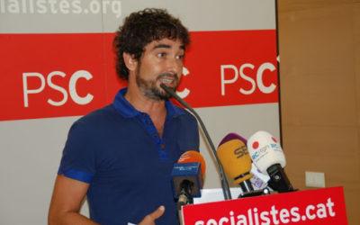 Carles Castillo diu que escoltarà les ofertes que ha rebut d'altres partits un cop ha estripat el carnet del PSC